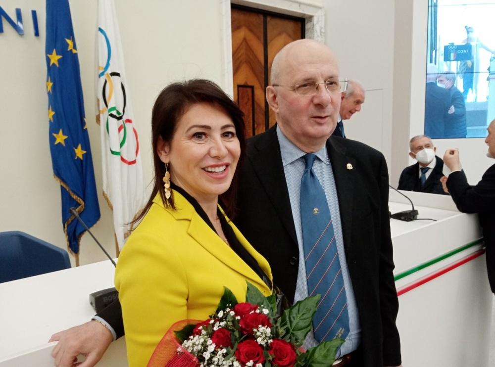 Francesca Bardelli e Giovanni Micheli
