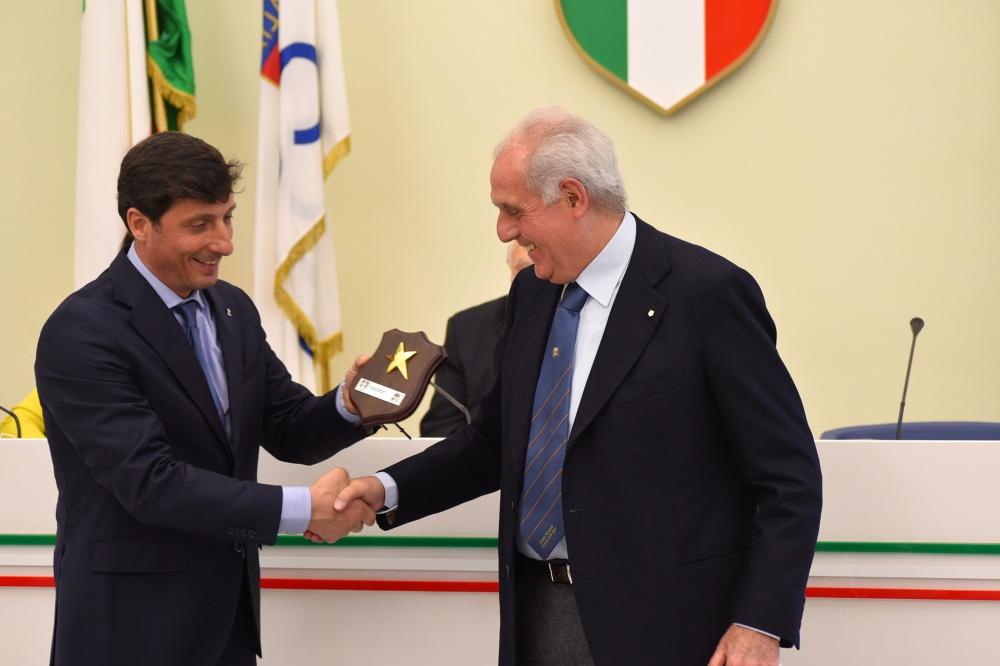 Andrea Frateiacci con Alberto Scotti