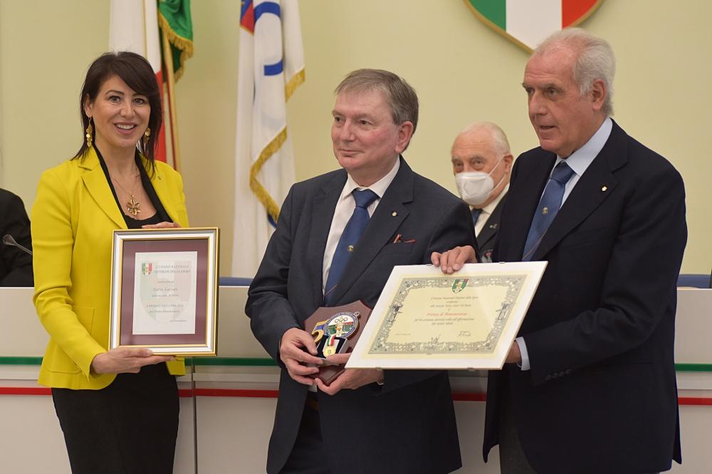 Ilario Lazzari con Francesca Bardelli e Alberto Scotti