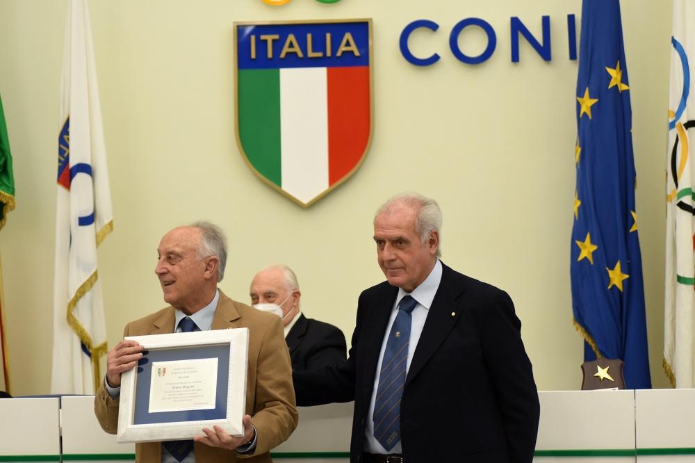 Alberto Scotti con Ettore Biagini