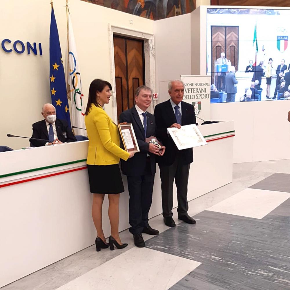 Da sinistra: Francesca Bardelli, Ilario Lazzari e Alberto Scotti - 13 Marzo 2021, Roma